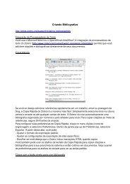 Criando Bibliografias - Unesp
