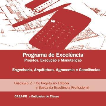 Programa de Excelência em Projetos - Crea-PR