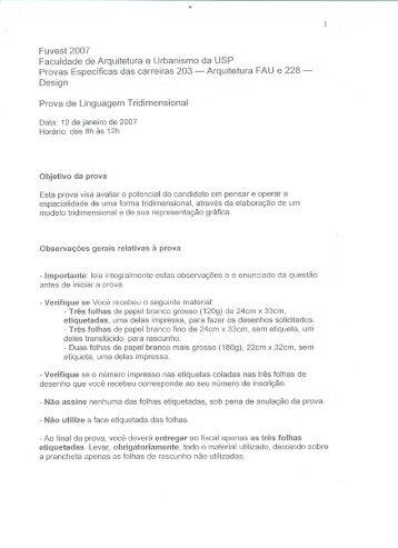 Tridimensional - USP