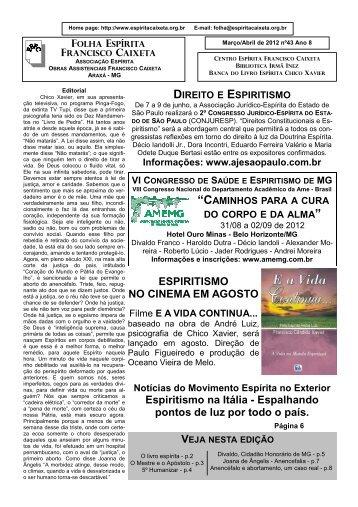 4 - Folha Espírita Francisco Caixeta
