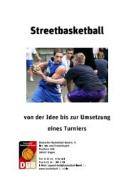 Kritik Beachbasketball 1996 - Deutscher Basketball Bund ...