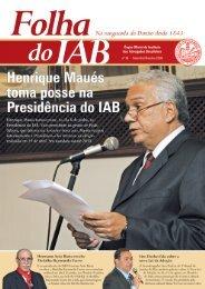 Setembro / Outubro de 2009 - Instituto dos Advogados Brasileiros