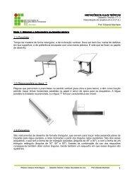 Apostila de Desenho Técnico I - Campus Porto Seguro