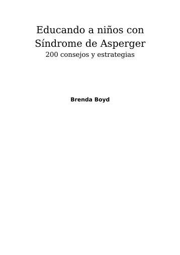 Educando a niños con Síndrome de Asperger