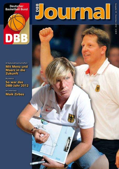 Mit Menz und Maerz in die Zukunft So - Deutscher Basketball Bund ...