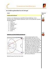 29. Einführung Basketball 33 mit Zeit ng Basketball 33 mit Zeitregel
