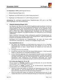 Rulesletter 2/2010 AG Regeln - Deutscher Basketball Bund ...