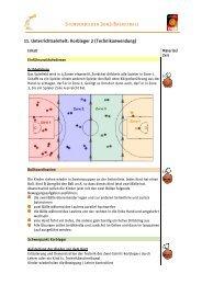 11. Unterrichtseinheit: Korbleger 2 - Deutscher Basketball Bund ...