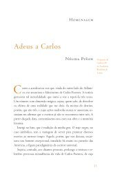 Homenagem - Academia Brasileira de Letras