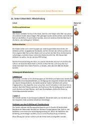 25. Unterrichtseinheit: Wiederholung tseinheit: Wiederholung