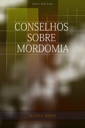 Conselhos sobre Mordomia - Centro de Pesquisas Ellen G. White