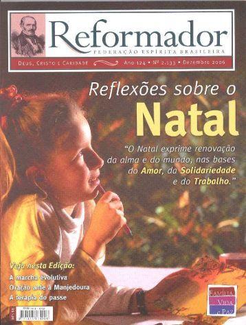 reformador dezembro 2006 - a.qxp - Federação Espírita Brasileira