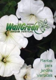 Catálogo de plantas para WallGreen