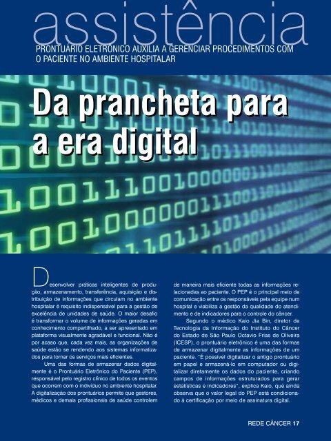 Da prancheta para a era digital Da prancheta para a era digital