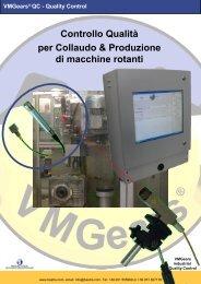 Controllo Qualità per Collaudo & Produzione di macchine rotanti