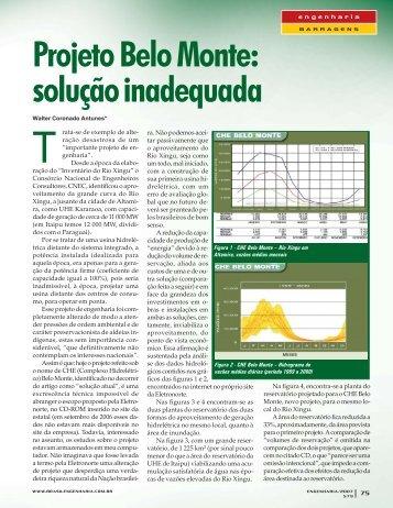 Projeto Belo Monte - Revista Engenharia