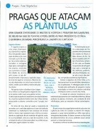 PRAGAS QUE ATACAM AS PLANTU LAS - Ainfo - Embrapa