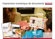 Impression numérique de documents - Xeikon