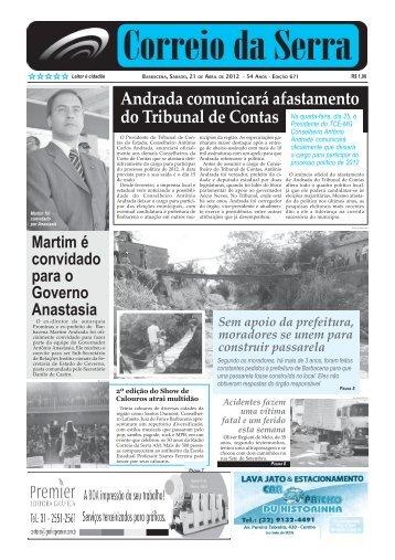 Número 671.pmd - Jornal Correio da Serra