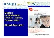 Präsentation Prof. Dr. Michael Klein