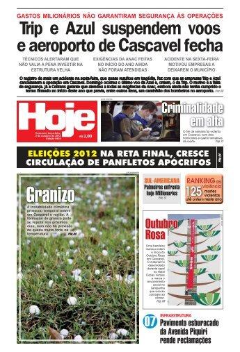 Granizo - Jornal Hoje