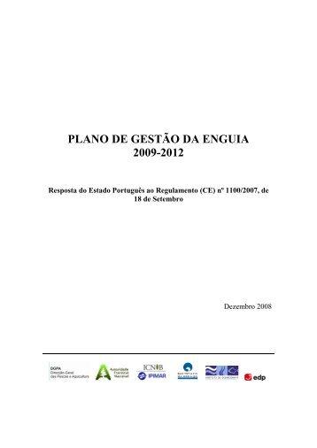 Plano de Gestão da Enguia 2009/2012: Resposta - DRAP Centro
