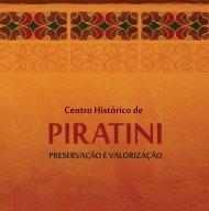"""Download do livro """"Centro Histórico de Piratini: Preservação e ..."""