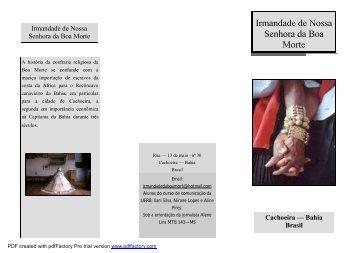 Irmandade de Nossa Senhora da Boa Morte - UFRB