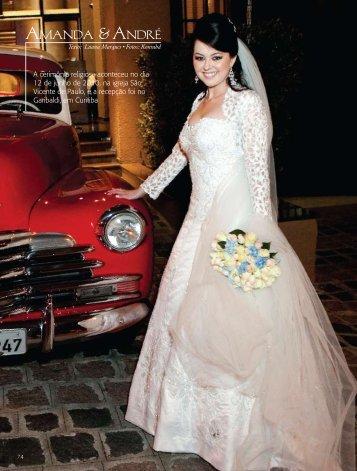 revista Inesquecível Casamento PR/SC nº 07 - Claudia Braga