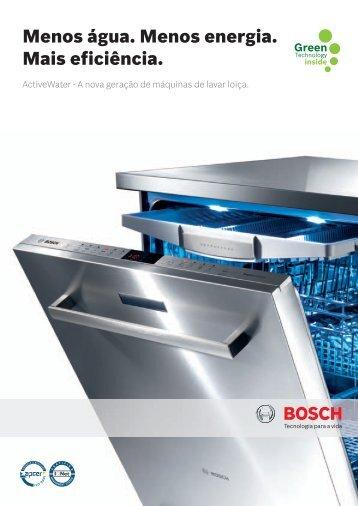 Máquinas de lavar louça Bosch