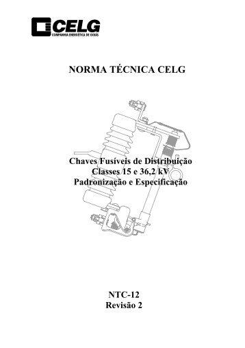 Chaves Fusíveis de Distribuição - Celg D