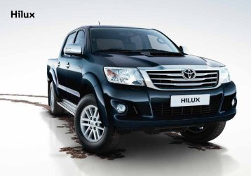 Toyota Hilux Catálogo Online 2012