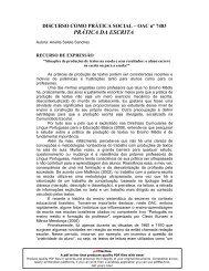 PRÁTICA DA ESCRITA - Secretaria de Estado da Educação ...