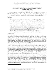 Conscientização – Linguagem diversificada - Centro Paulo Freire ...
