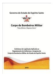 Regulamento de Uniforme e Insígnias do Corpo de Bombeiros ...