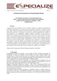 A Prática do Ecoturismo em Propriedades Rurais - IPOG