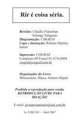 Livro Rir é coisa Séria - Ibpan.com.br