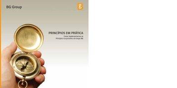 CONDUTA Princípios em Prática - BG Group
