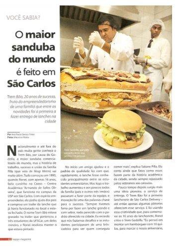 Kappa - O maior sanduba do mundo é feito em São Carlos