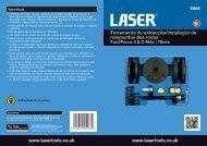 Ferramenta de extracção/instalação de rolamentos ... - Laser Tools