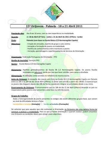 Informações - Federação Portuguesa de Orientação