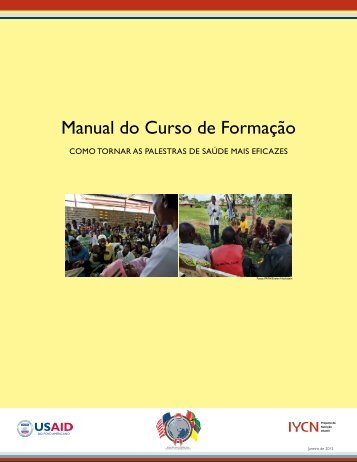 Manual do Curso de Formação - USAID's Infant & Young Child ...
