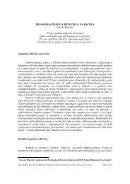 DESAFIOS À PRÁTICA REFLEXIVA NA ESCOLA Lino de Macedo O ...