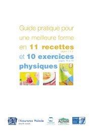 Guide pratique pour une meilleure forme en 11 recettes et 10 ... - Inpes