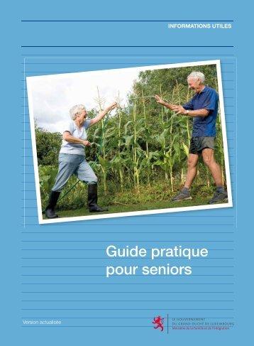 Guide pratique pour seniors - Ministère de la Famille et de l'Intégration