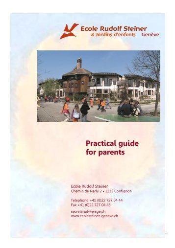 Guide pratique - Ecole Rudolf Steiner de Geneve