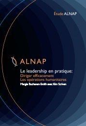 Le leadership en pratique: - alnap
