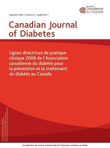 Lignes directrices de pratique clinique 2008 de l - Canadian ...