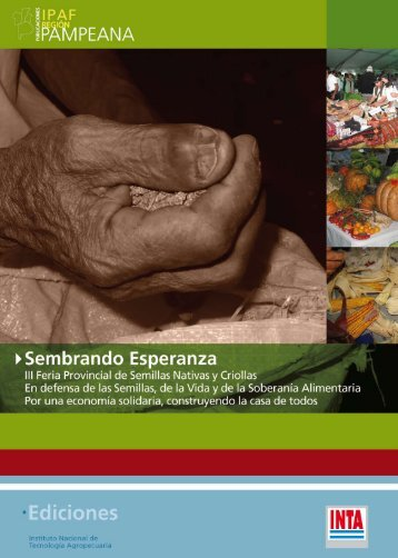 """III Feria Provincial de Semillas Nativas y Criollas """"Sembrando ... - INTA"""