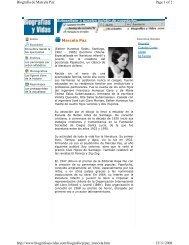 Marcela Paz Page 1 of 2 Biografia de Marcela Paz 15/11/2008 http ...